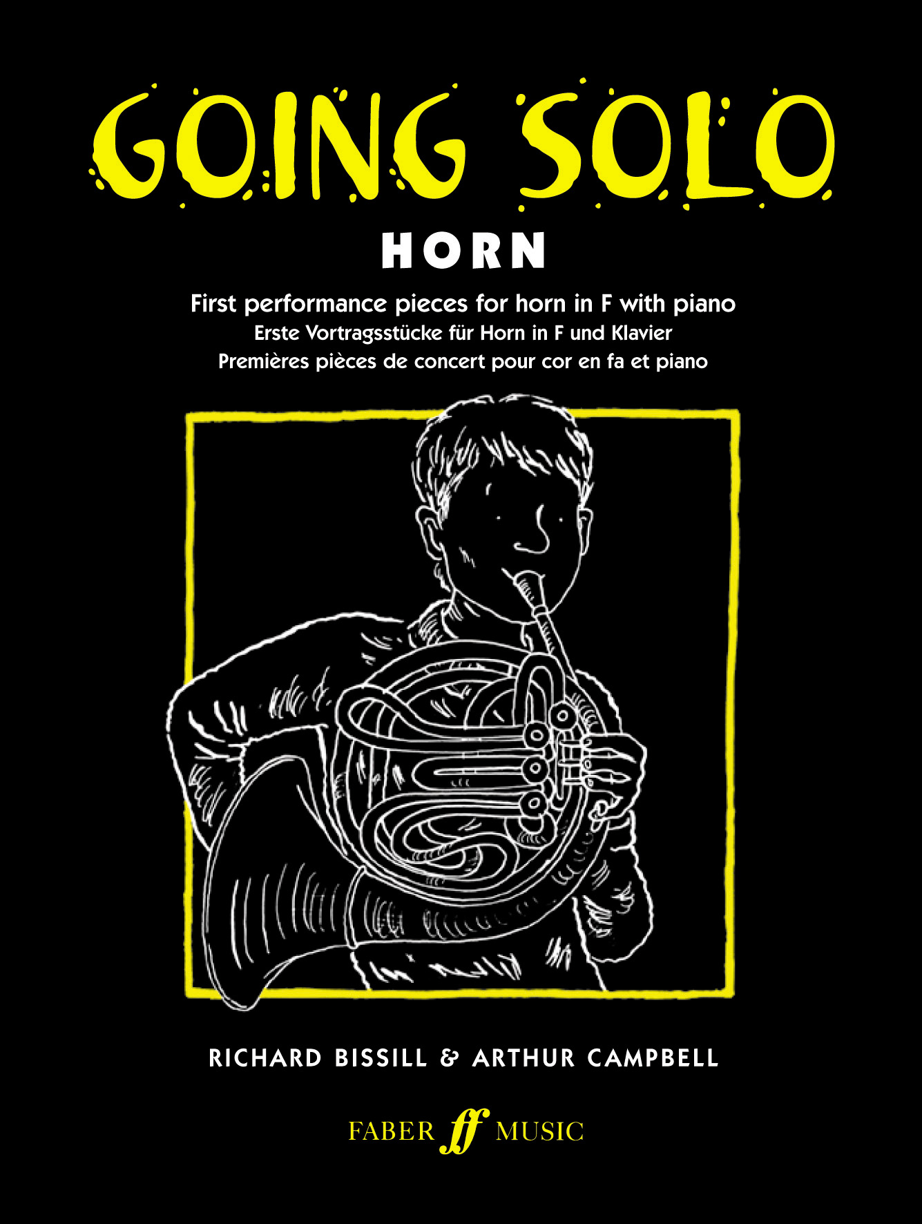 Richard Bissill: Going Solo Horn: French Horn: Instrumental Album