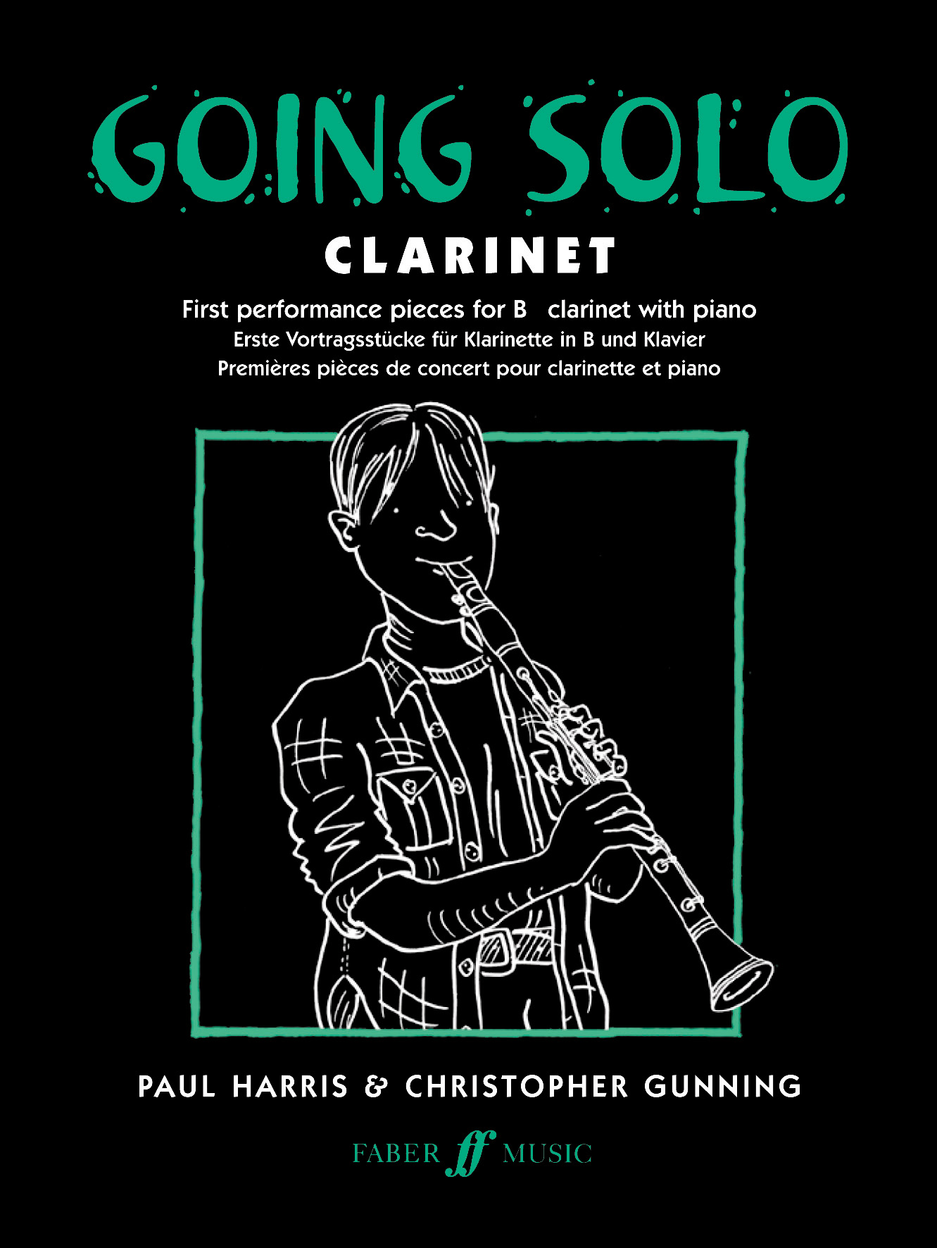 P. Harris C. Gunning: Going Solo: Clarinet: Instrumental Album