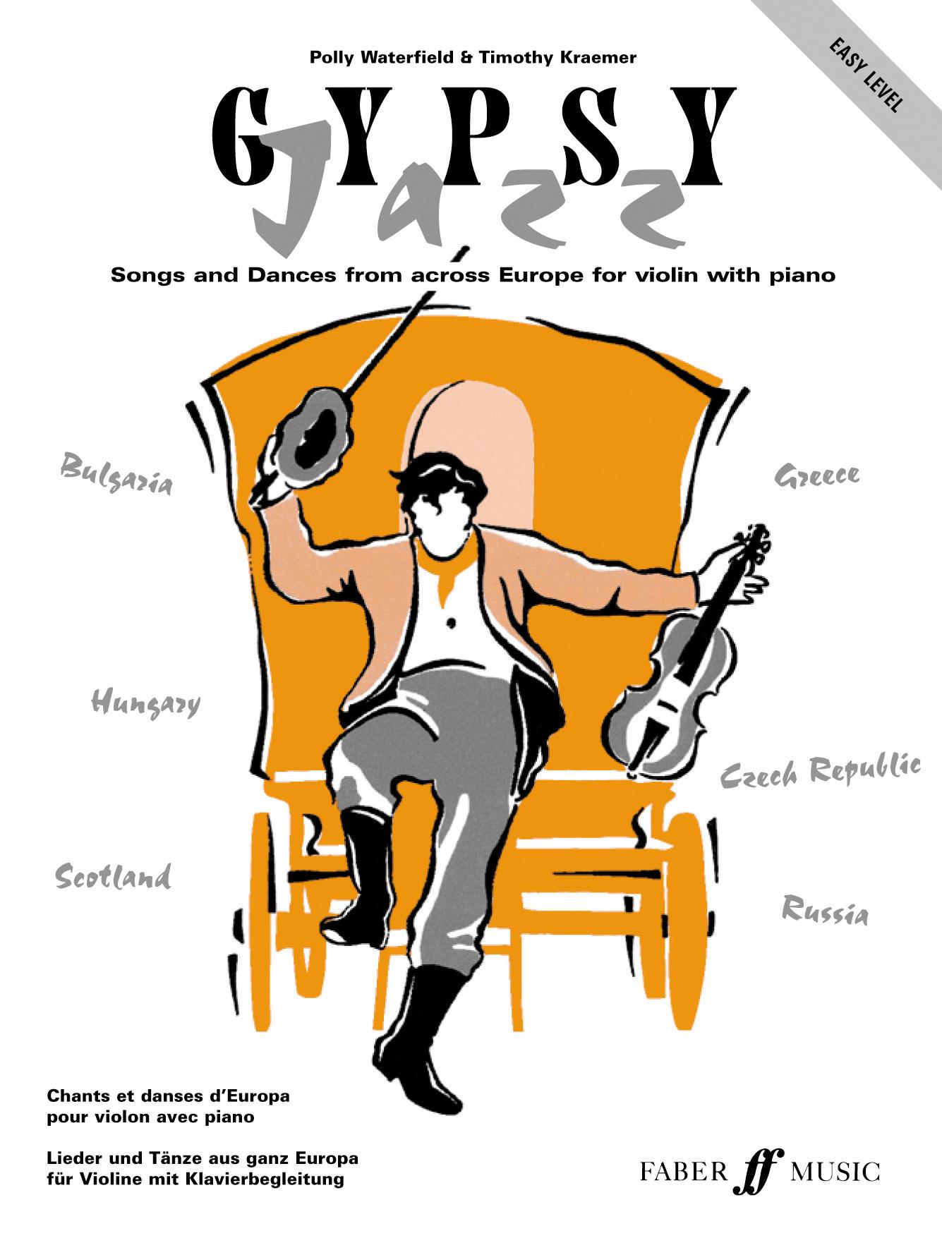 Polly Waterfield T. Kraemer: Gypsy Jazz. Easy Level: Violin: Instrumental Album