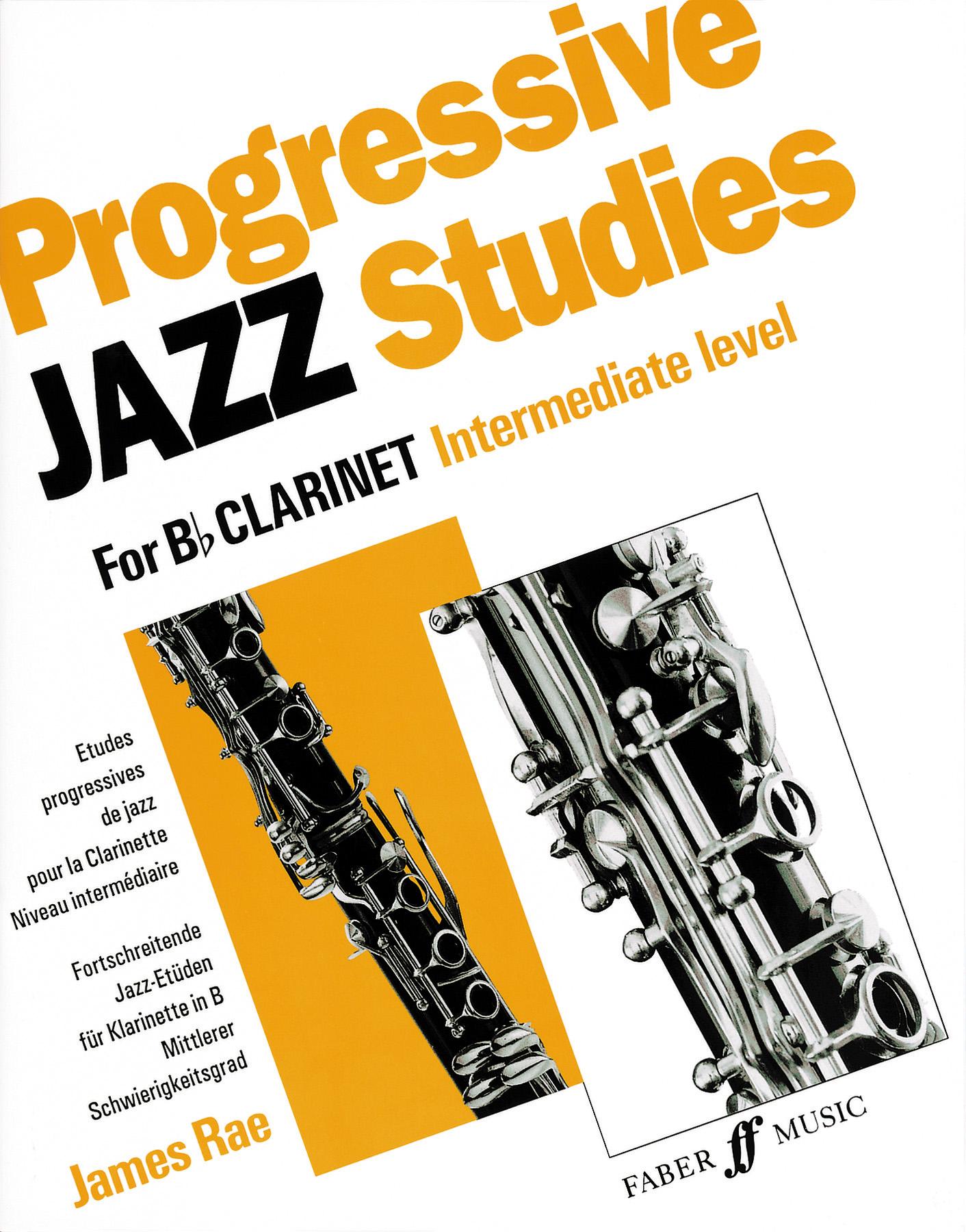 James Rae: Progressive Jazz Studies For B Flat Clarinet: Clarinet: Study