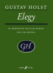 Gustav Holst: Elegy: Orchestra