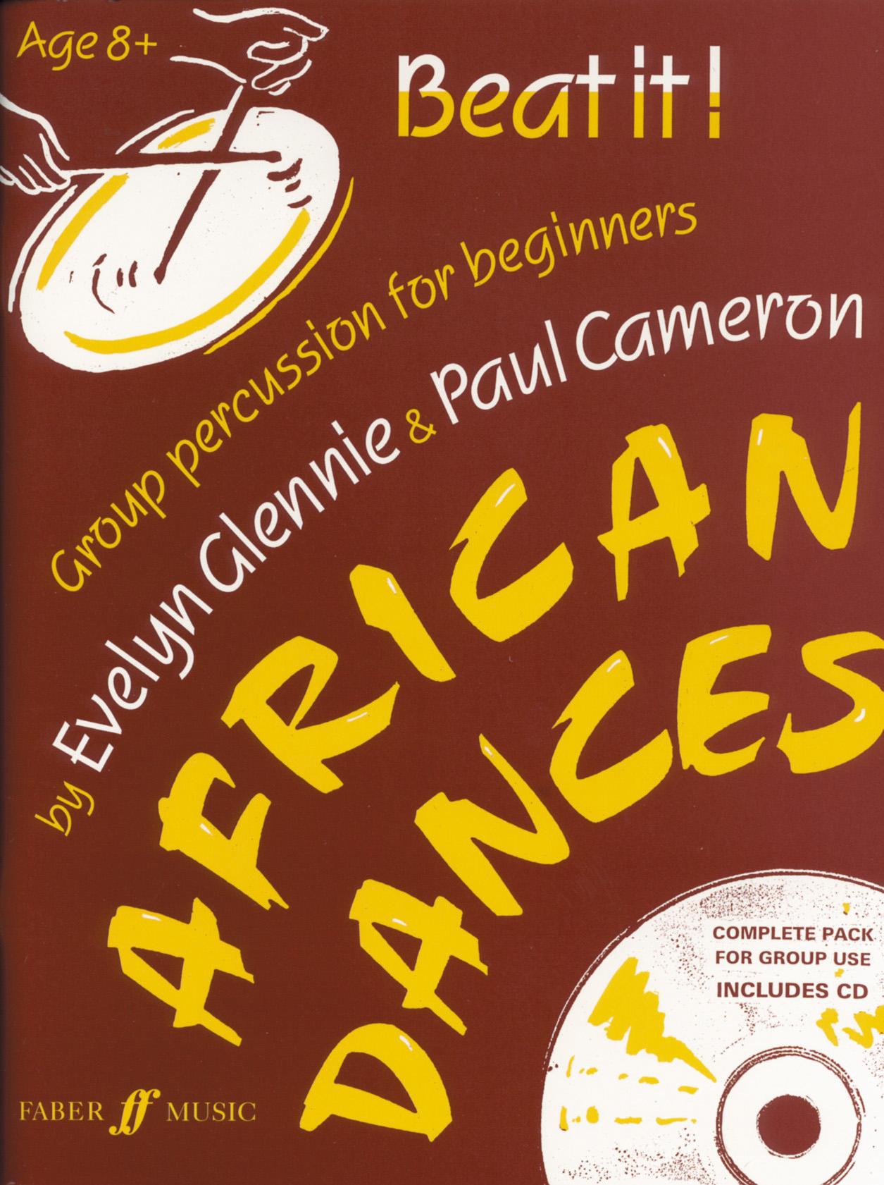 E. Glennie P. Cameron: Beat it! African Dances: Percussion: Instrumental Tutor