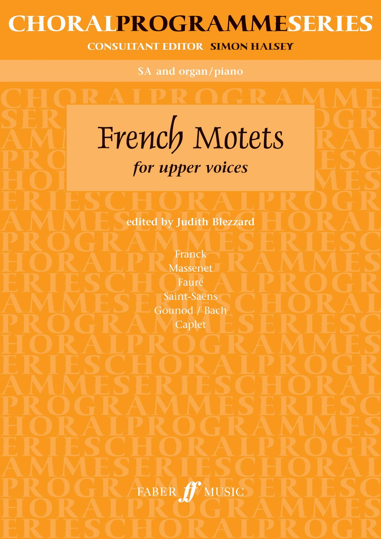 French Motets: 2-Part Choir: Vocal Score