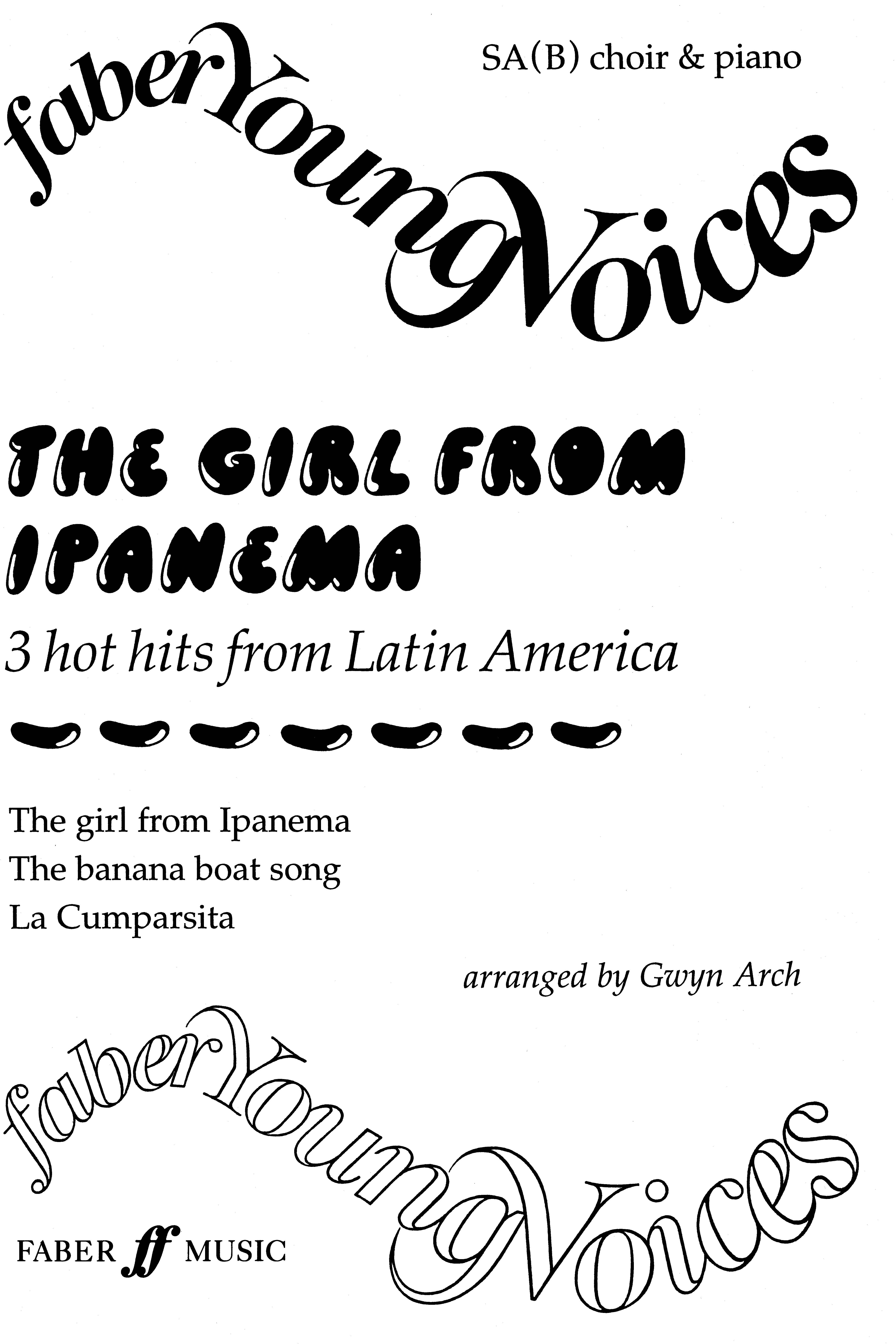 The Girl from Ipanema: SAB: Vocal Score