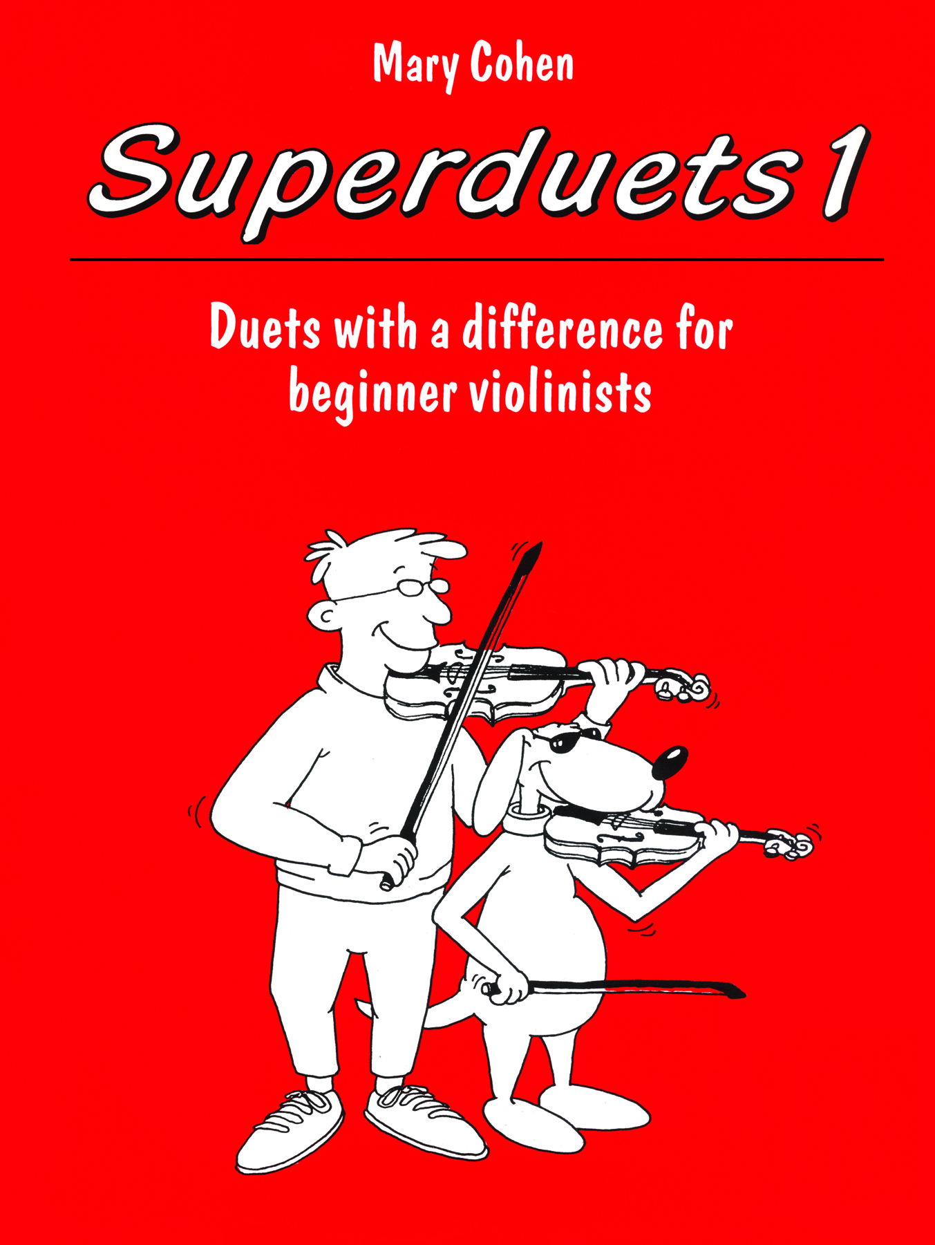 M. Cohen: Superduets 1: Violin Duet: Instrumental Album
