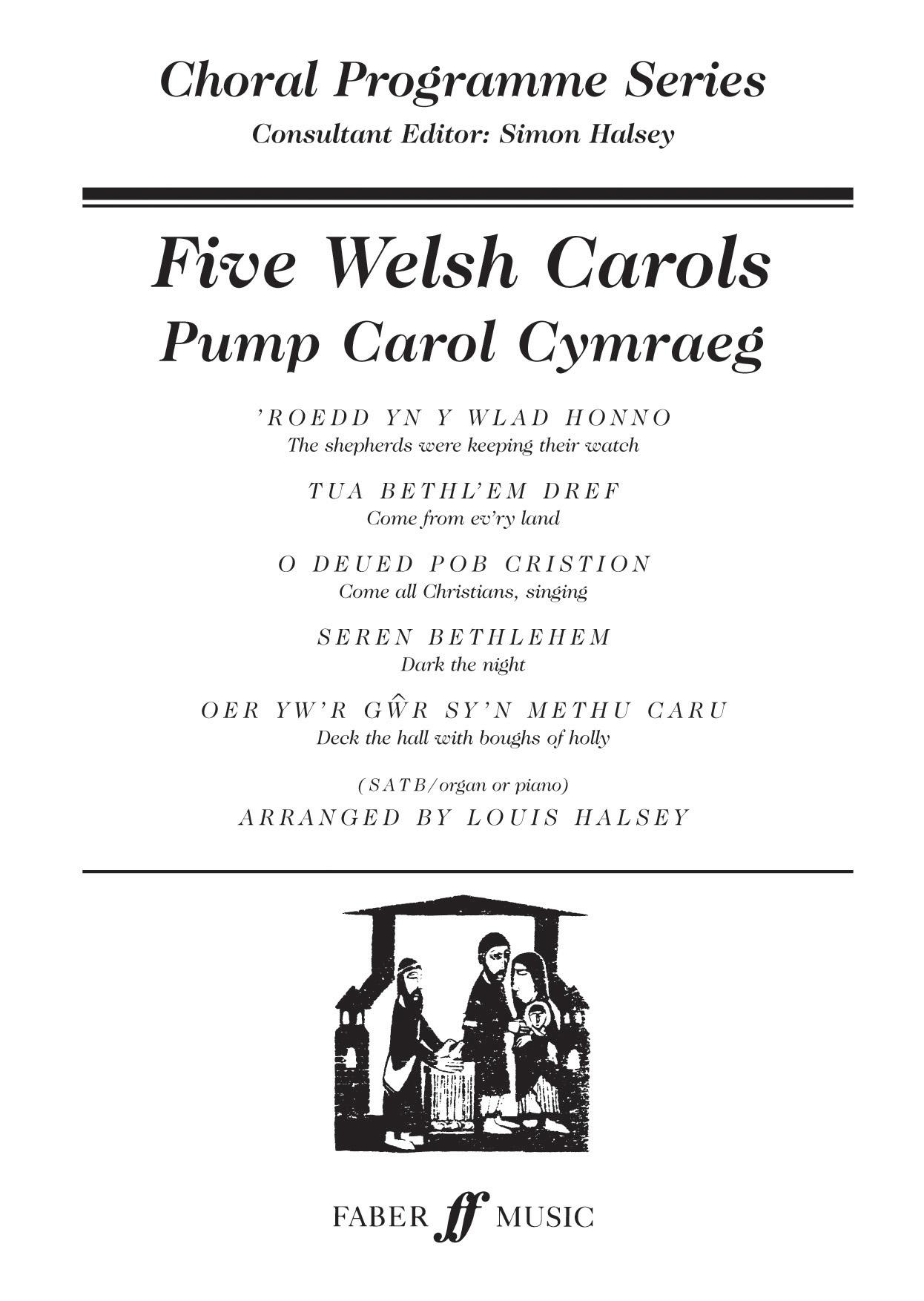 Five Welsh Carols: SATB