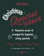 Christmas Quartetstart: String Ensemble: Score and Parts