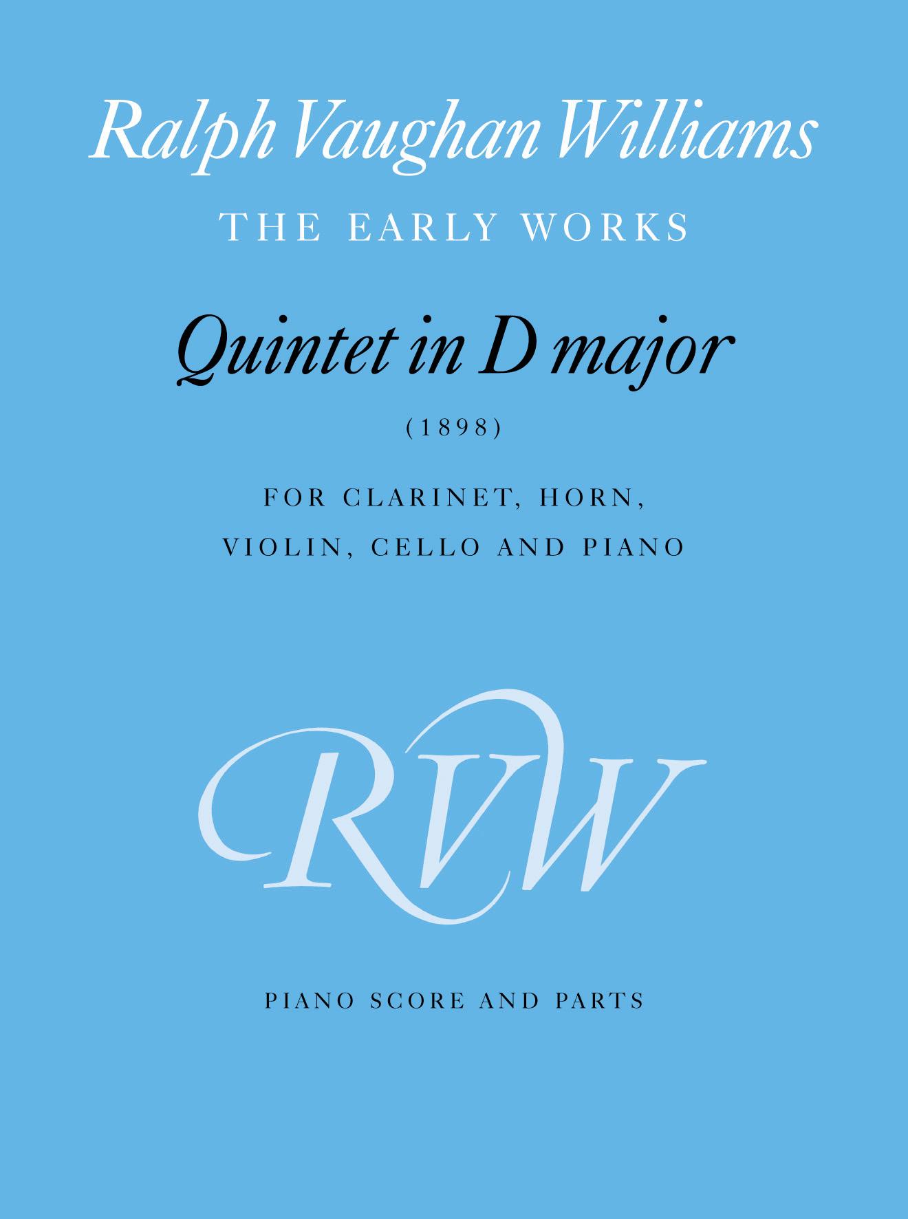 Ralph Vaughan Williams: Quintet In D: Ensemble: Score and Parts
