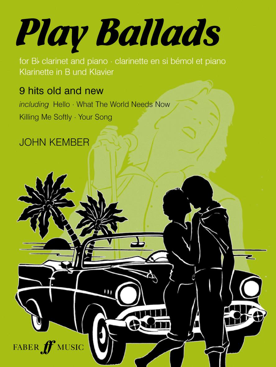 John Kember: Play Ballads: Clarinet: Instrumental Album