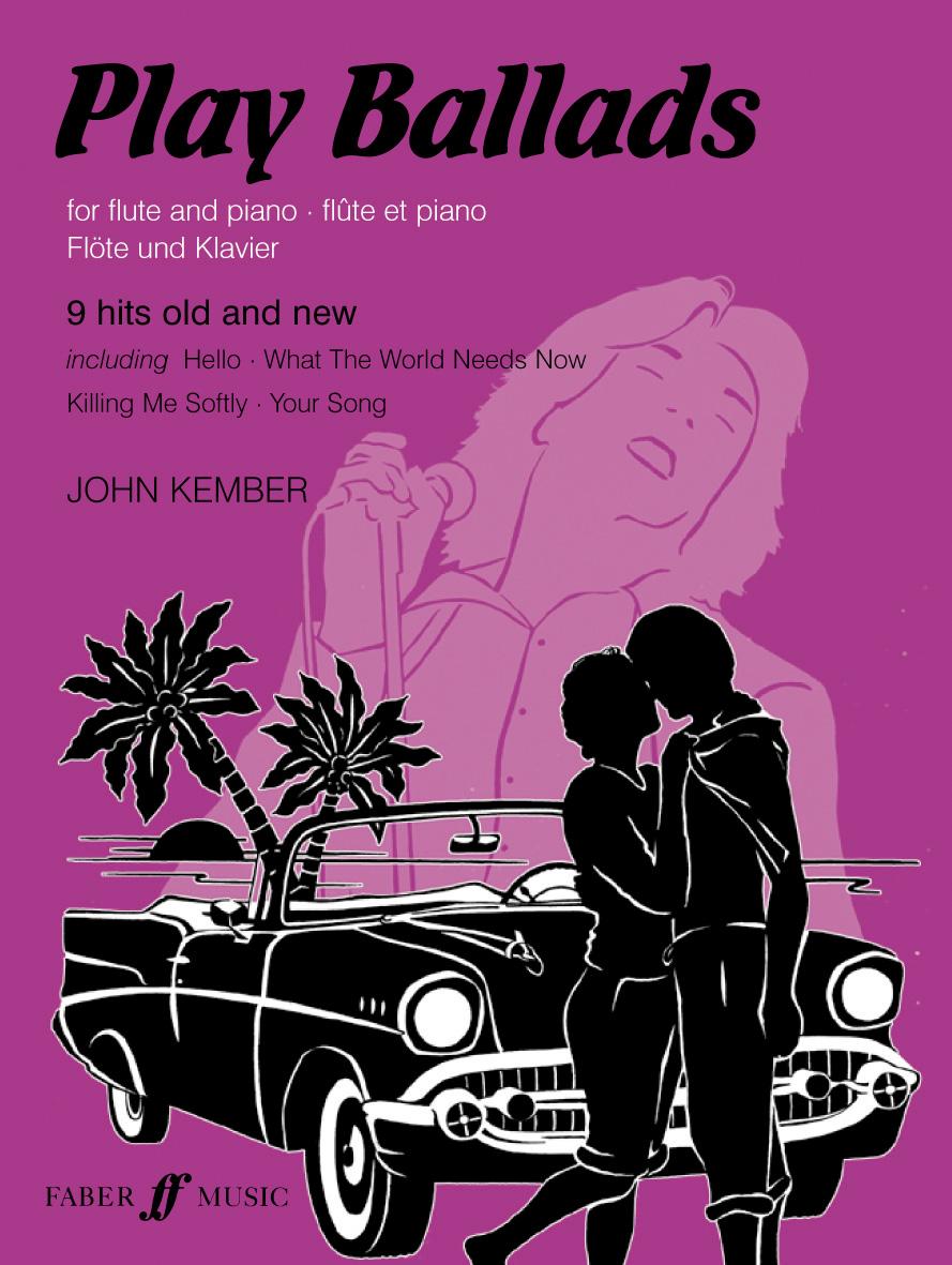 John Kember: Play Ballads: Flute: Instrumental Album