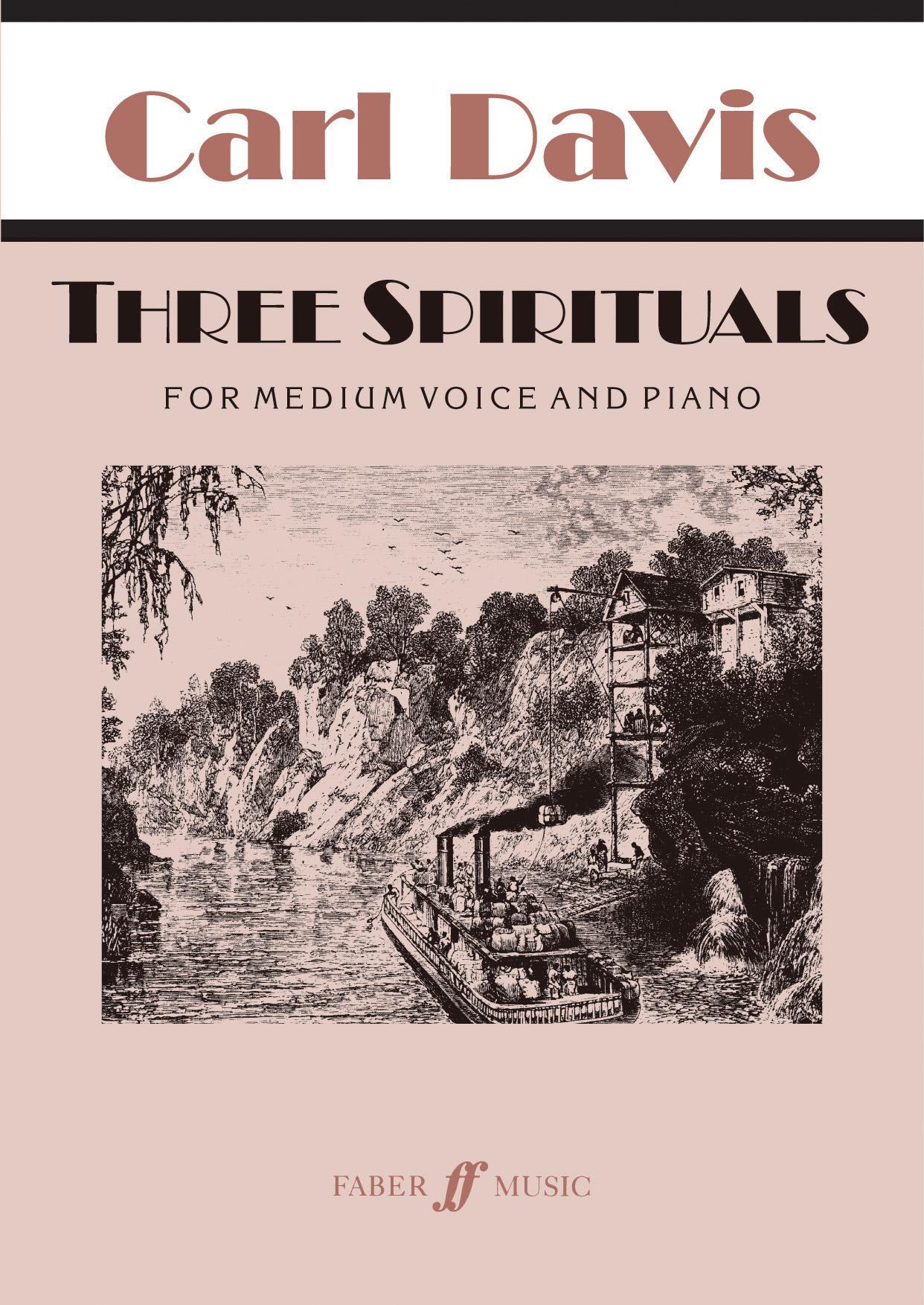 Carl David: Three Spirituals: Medium Voice: Vocal Work