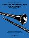 P. Harris E. Johnson: Concert Repertoire: Clarinet: Instrumental Album