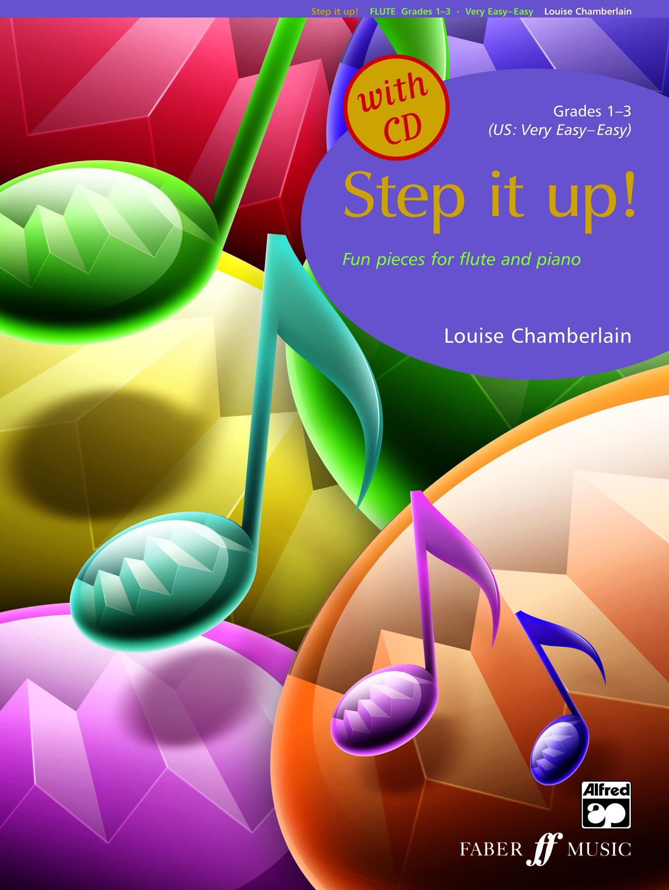 L. Chamberlain: Step It Up! Grade 1 - 3: Flute: Instrumental Album