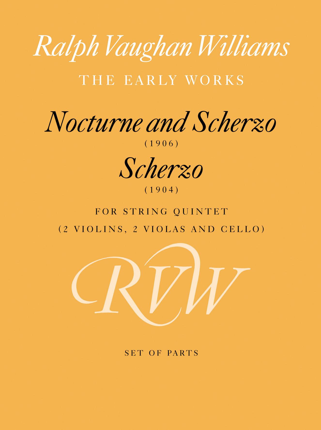 Ralph Vaughan Williams: Nocturne & Scherzo: String Ensemble
