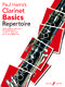 Paul Harris: Clarinet Basics Repertoire: Clarinet: Instrumental Album