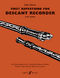 Sally Adams: First Repertoire For Descant Recorder: Descant Recorder: