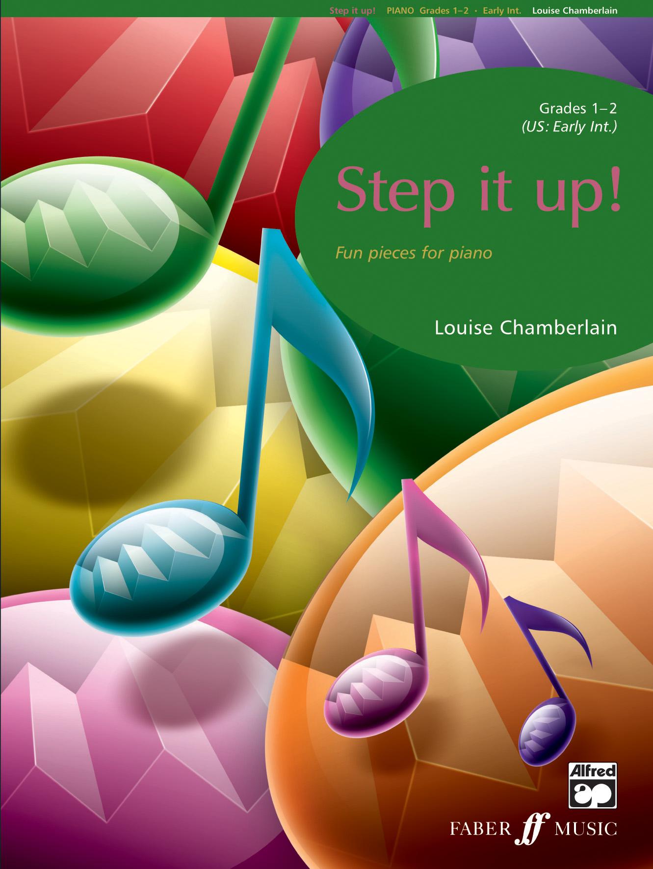 L. Chamberlain: Step It Up! (Grade 1-2): Piano: Instrumental Album