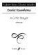 Daniel Rouwkema: A Celtic Prayer: SATB: Vocal Score