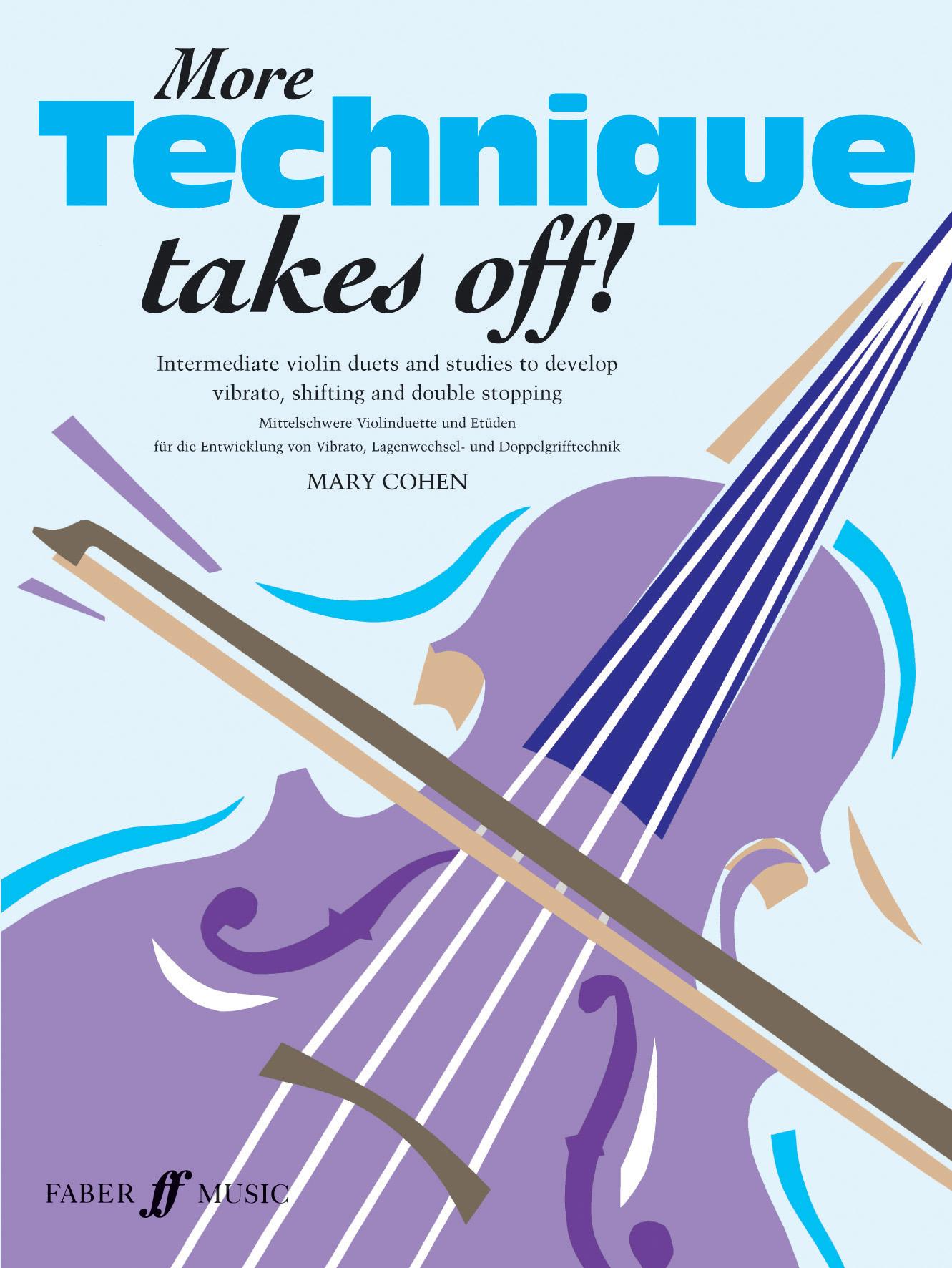 M. Cohen: More Technique Takes Off: Violin: Instrumental Tutor