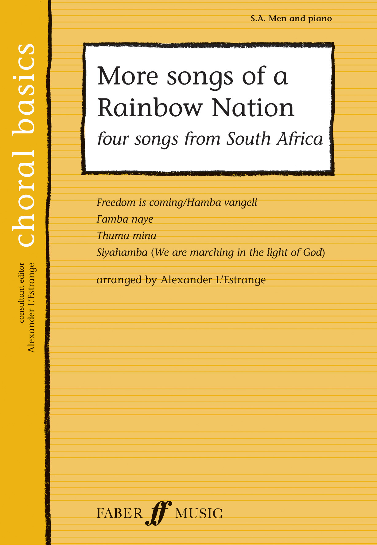 More songs of a Rainbow Nation: Mixed Choir: Vocal Score