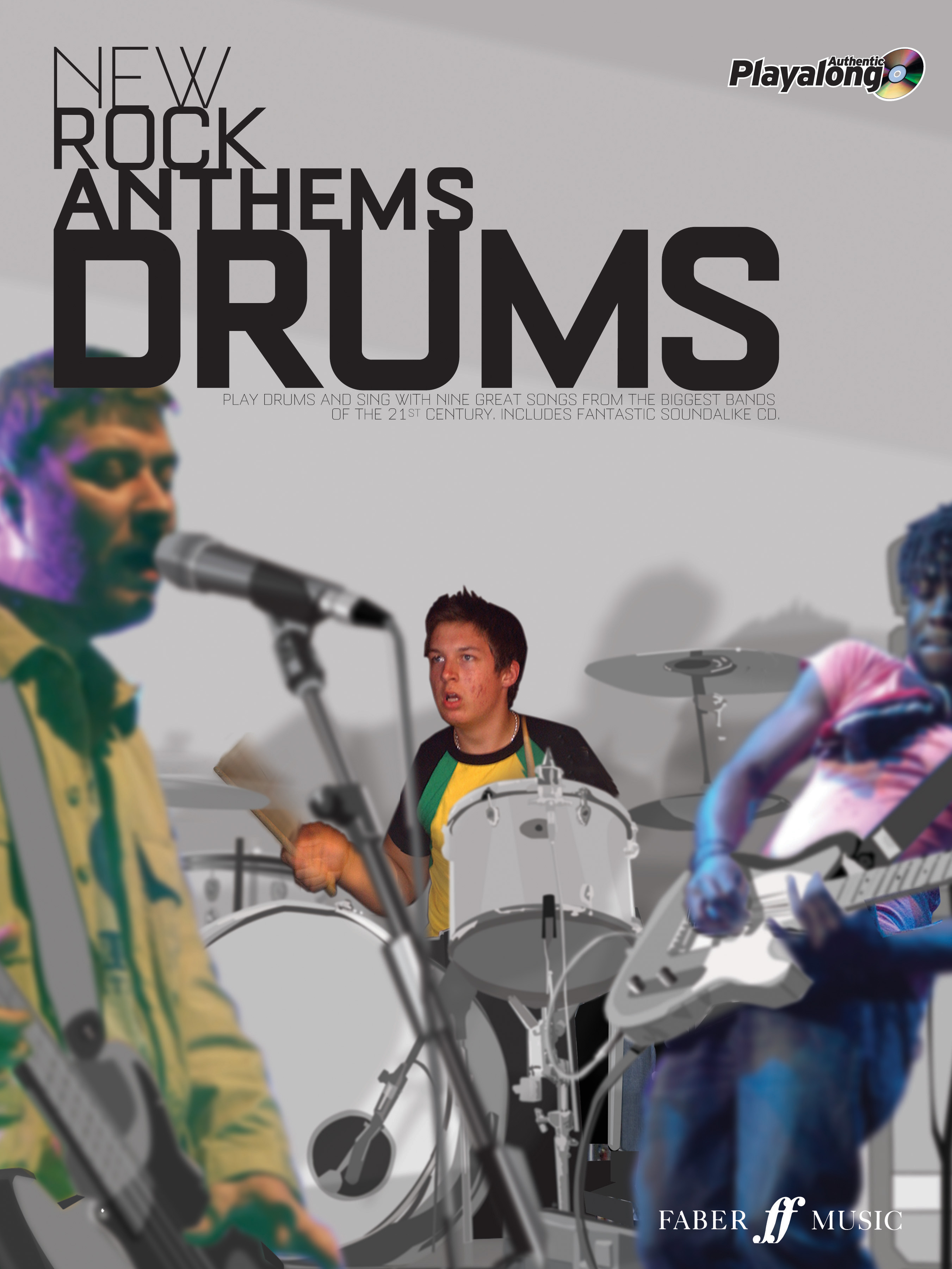 New Rock Anthems - Drums: Drum Kit: Instrumental Album