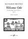 Benjamin Britten: Welcome Ode Op.95: SATB: Vocal Score