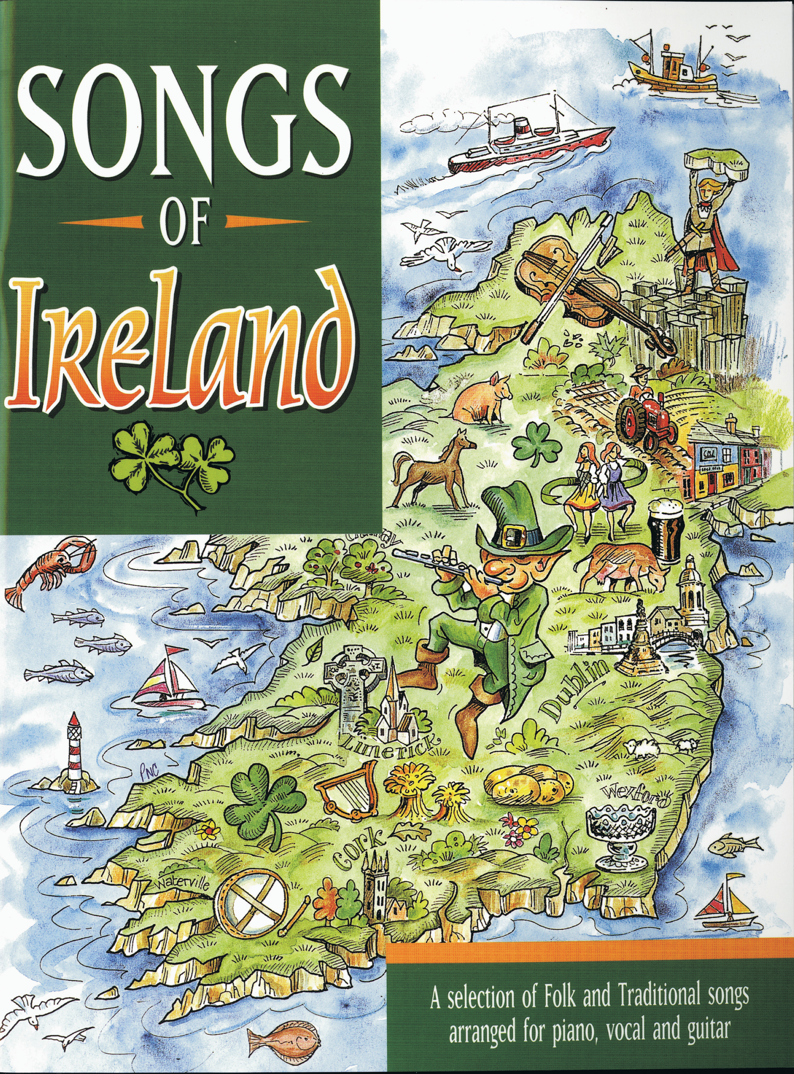 Various: Songs of Ireland: Piano  Vocal  Guitar: Mixed Songbook