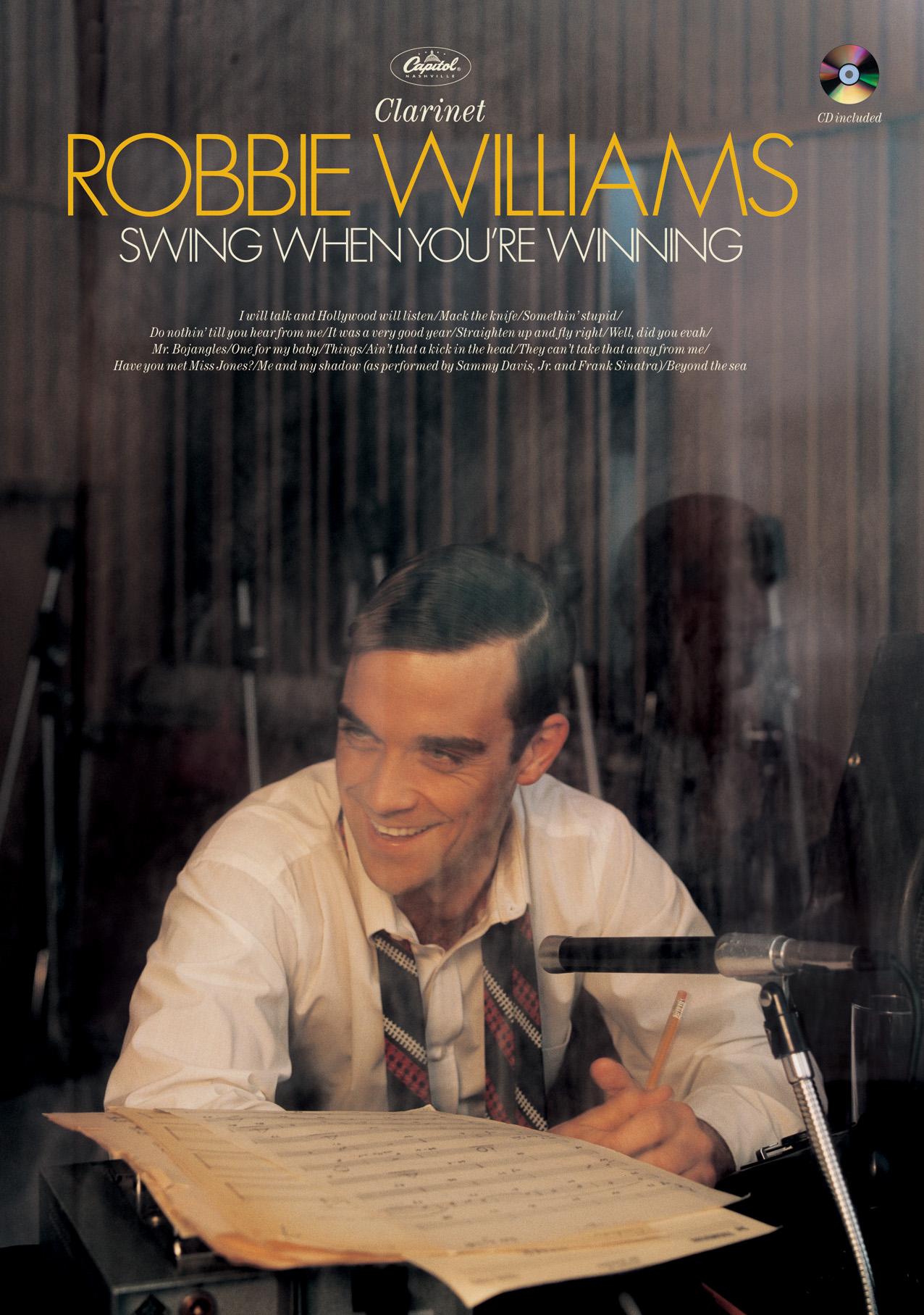 Robbie Williams: Swing When You're Winning: Clarinet: Instrumental Album