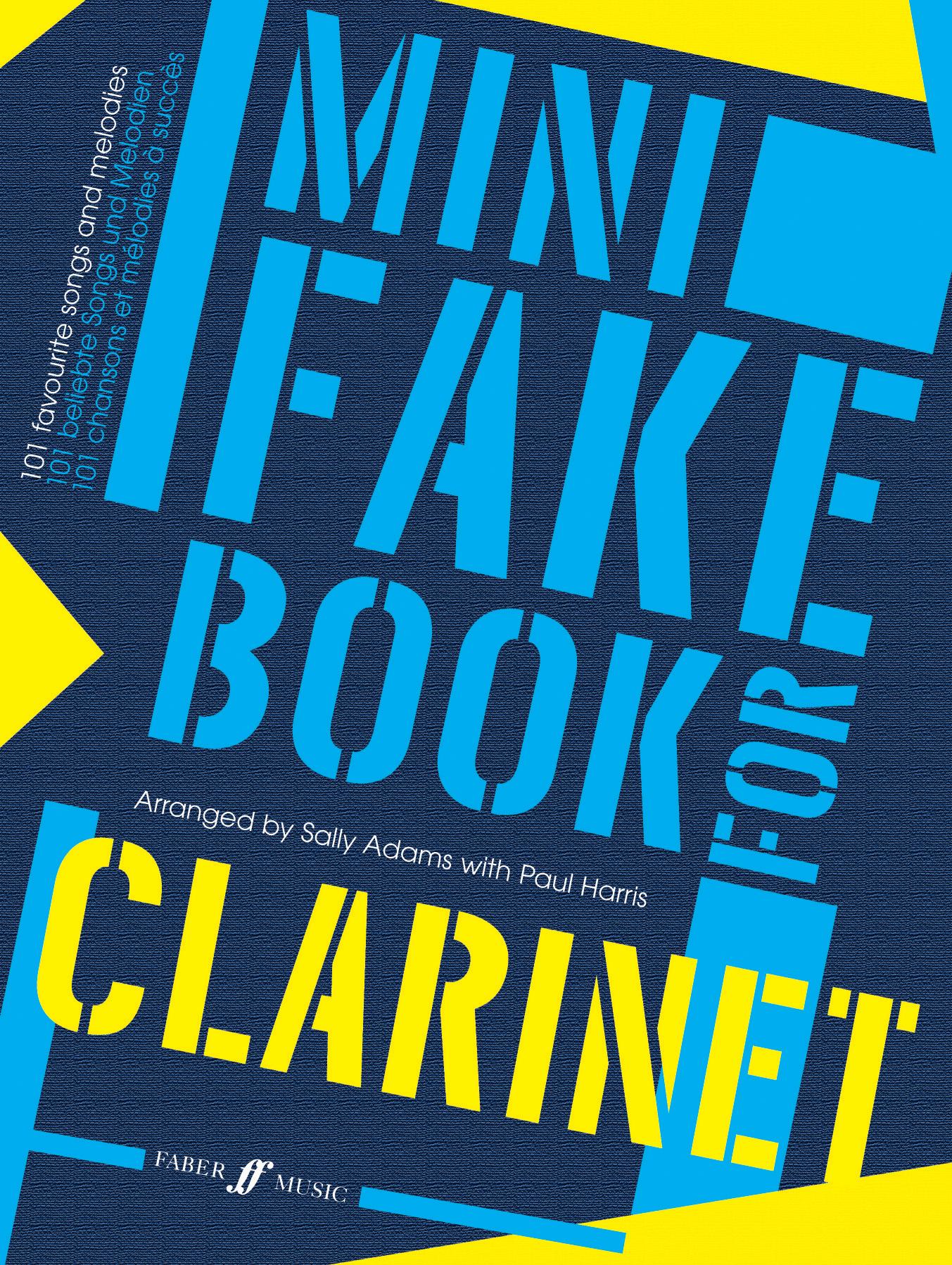Adams-Harris: Mini Fake Book: Clarinet: Instrumental Album