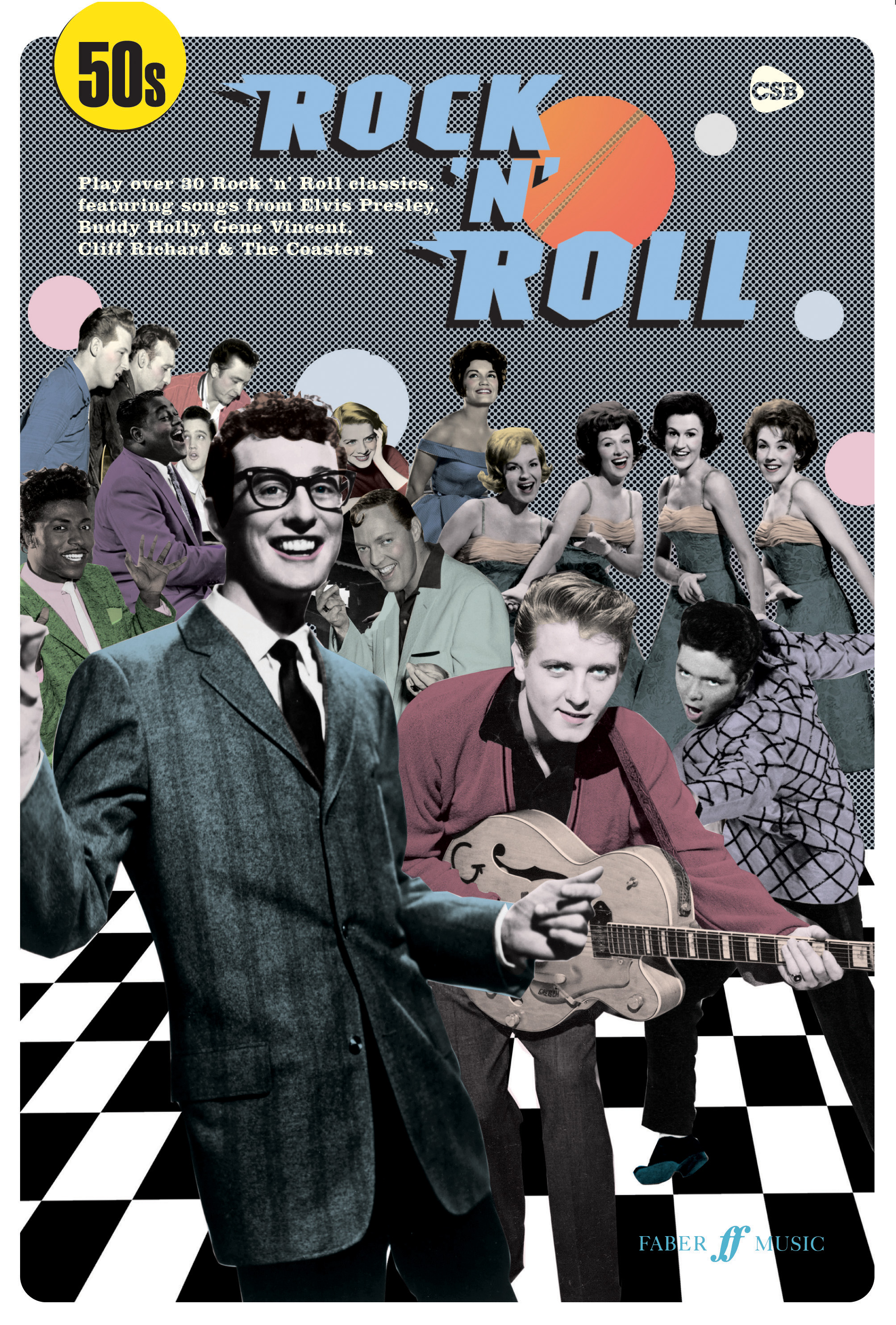 Various: 50s Rock 'n' Roll: Piano  Vocal  Guitar: Mixed Songbook