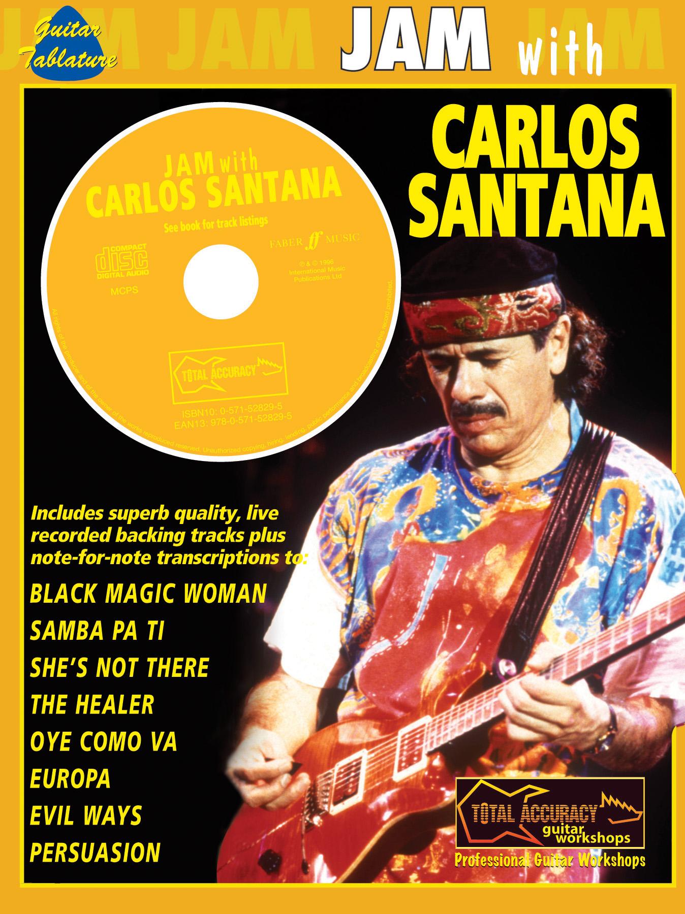 Santana: Jam With (Total: Guitar: Instrumental Album