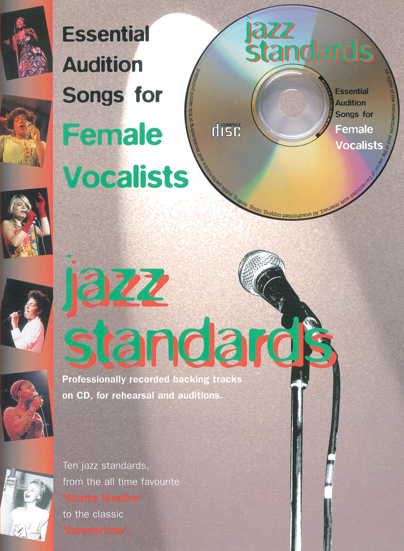 Various: Audition Songs: Jazz Standards: Piano  Vocal  Guitar: Vocal Album