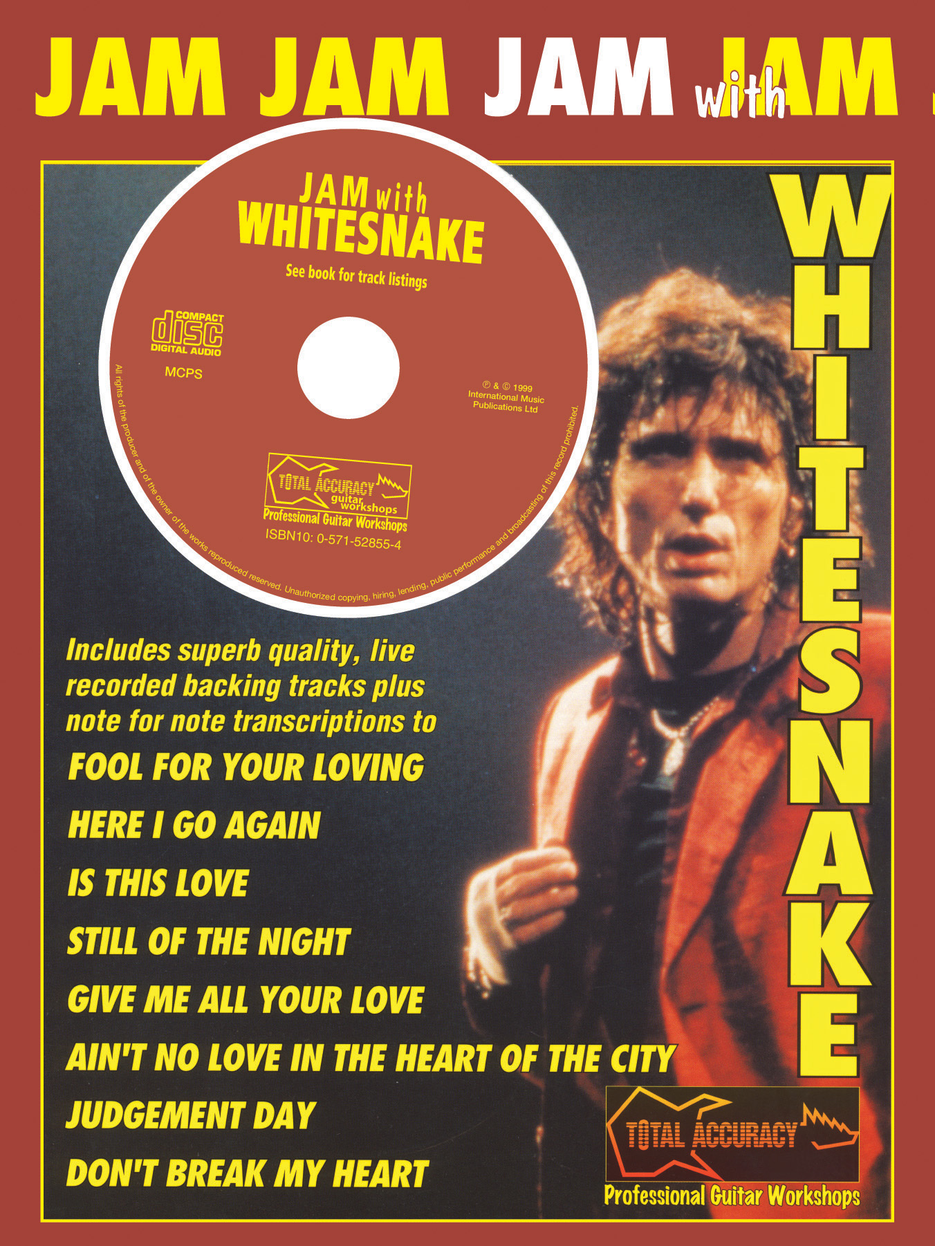 Whitesnake: Jam With Whitesnake: Guitar: Instrumental Album