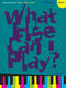 Various: What else can I play - Jazz & Blues: Piano: Instrumental Album