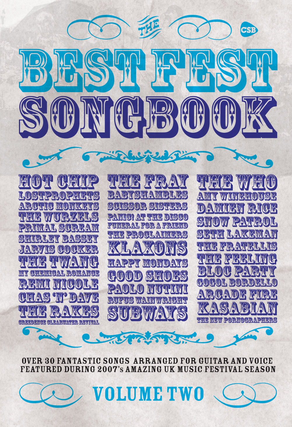 Various: Best Fest Songbook Vol. 2: Piano  Vocal  Guitar: Mixed Songbook