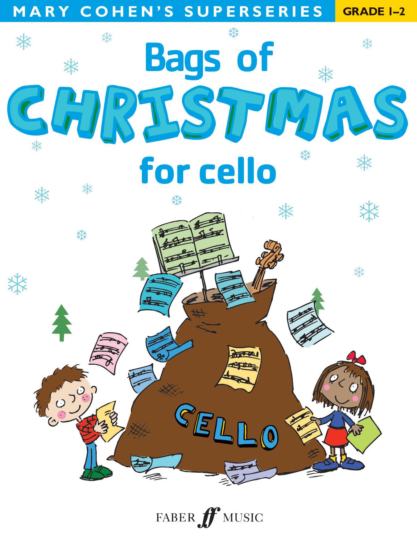 M. Cohen: Bags Of Christmas (Grade 1-2): Cello: Instrumental Album