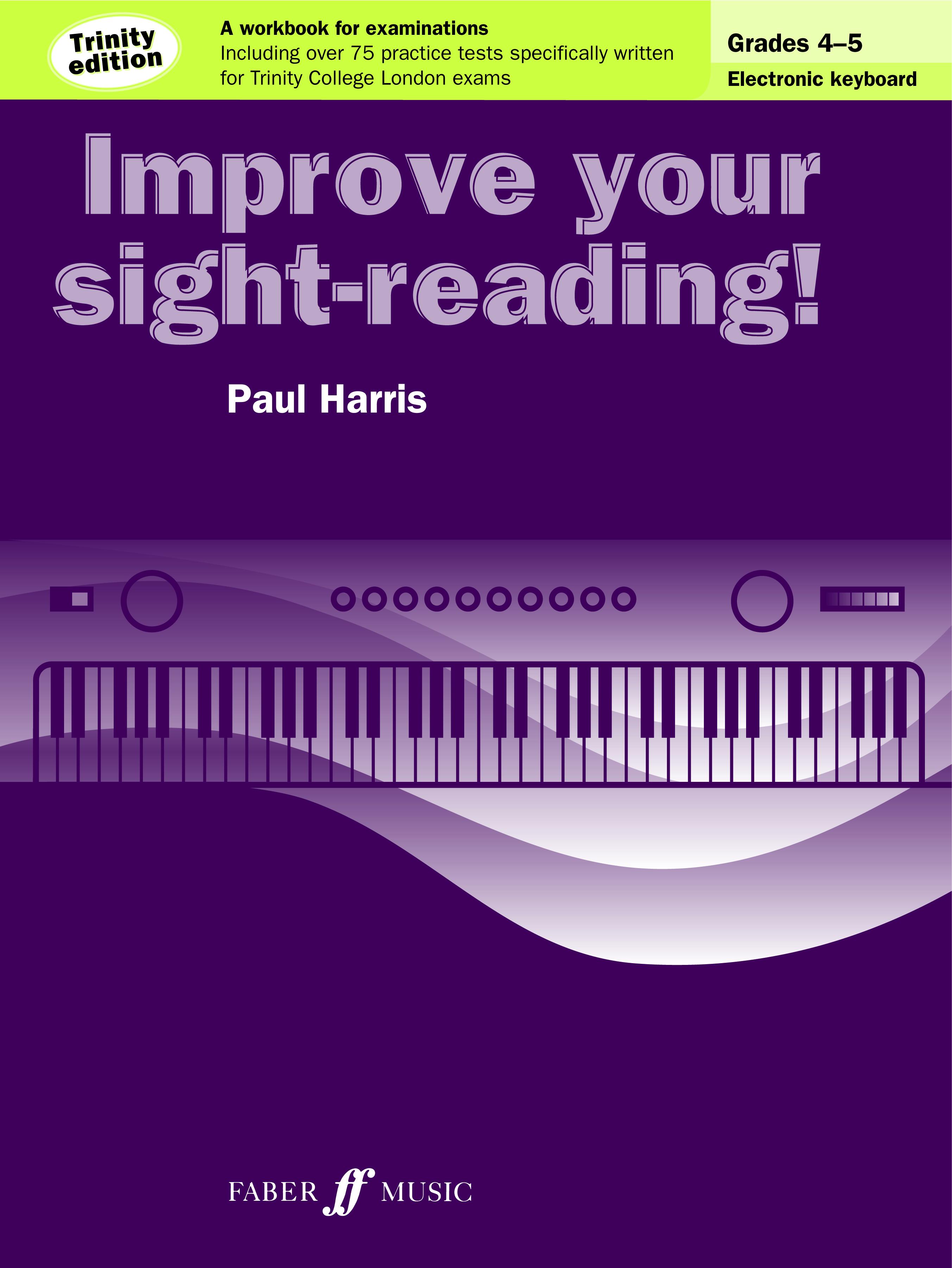Paul Harris: Improve Your Sight-Reading!: Electric Keyboard: Instrumental Tutor