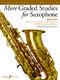 Paul Harris: More Graded Studies for Saxophone Book 2: Saxophone: Instrumental