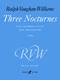 Ralph Vaughan Williams: Three Nocturnes: Medium Voice: Score