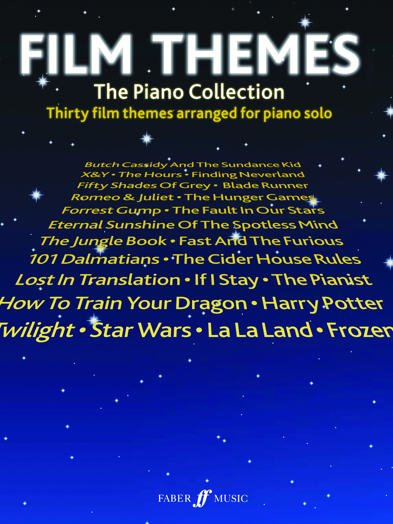 Film Themes: The Piano Collection: Piano: Instrumental Work