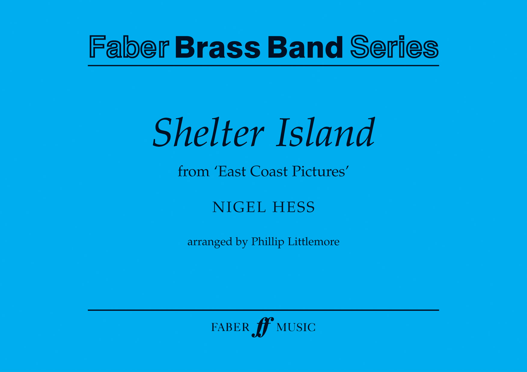 Nigel Hess: Shelter Island.: Brass Band: Score and Parts