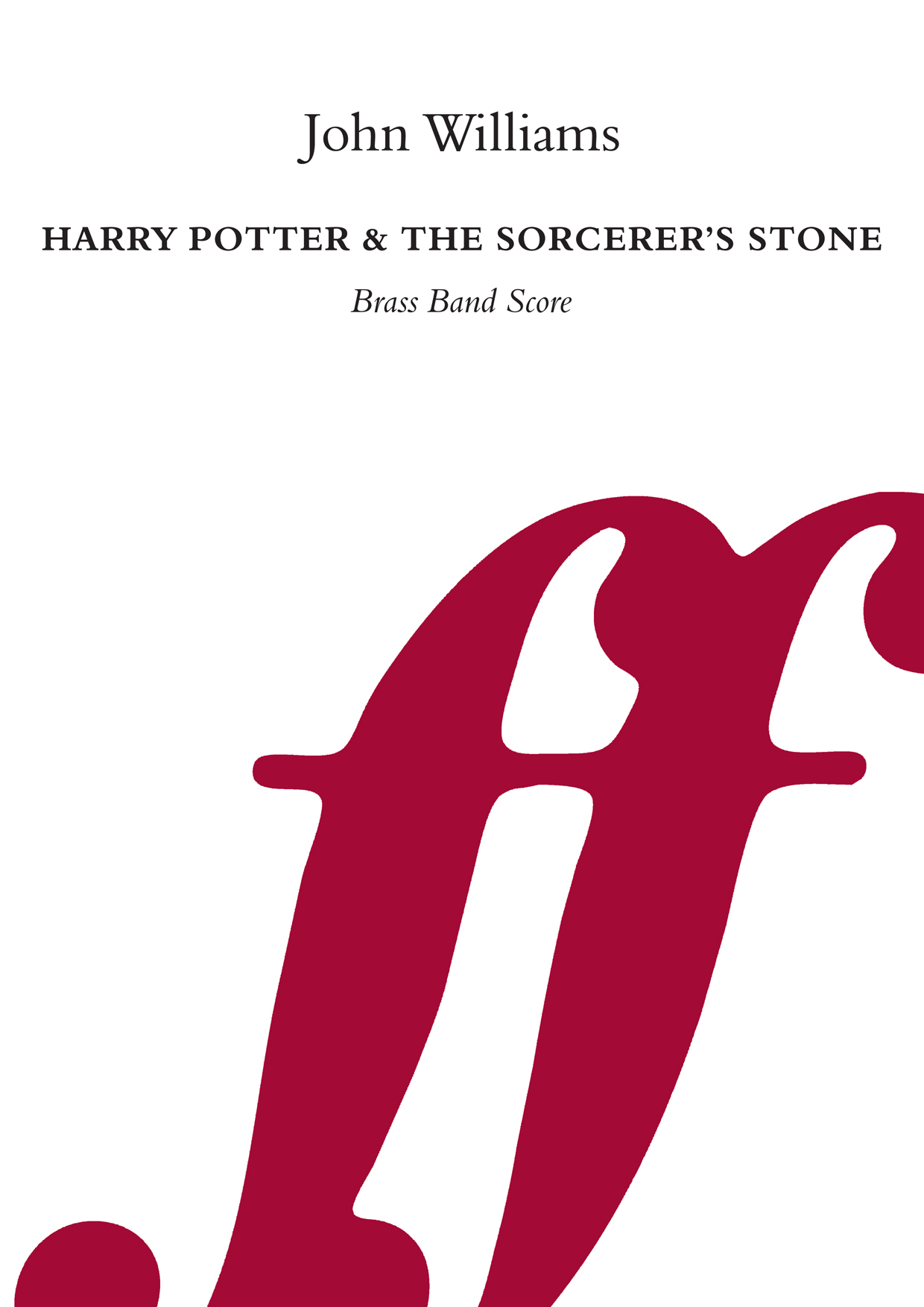 John Williams: Harry Potter/Sorcerer's Stone: Brass Band: Score