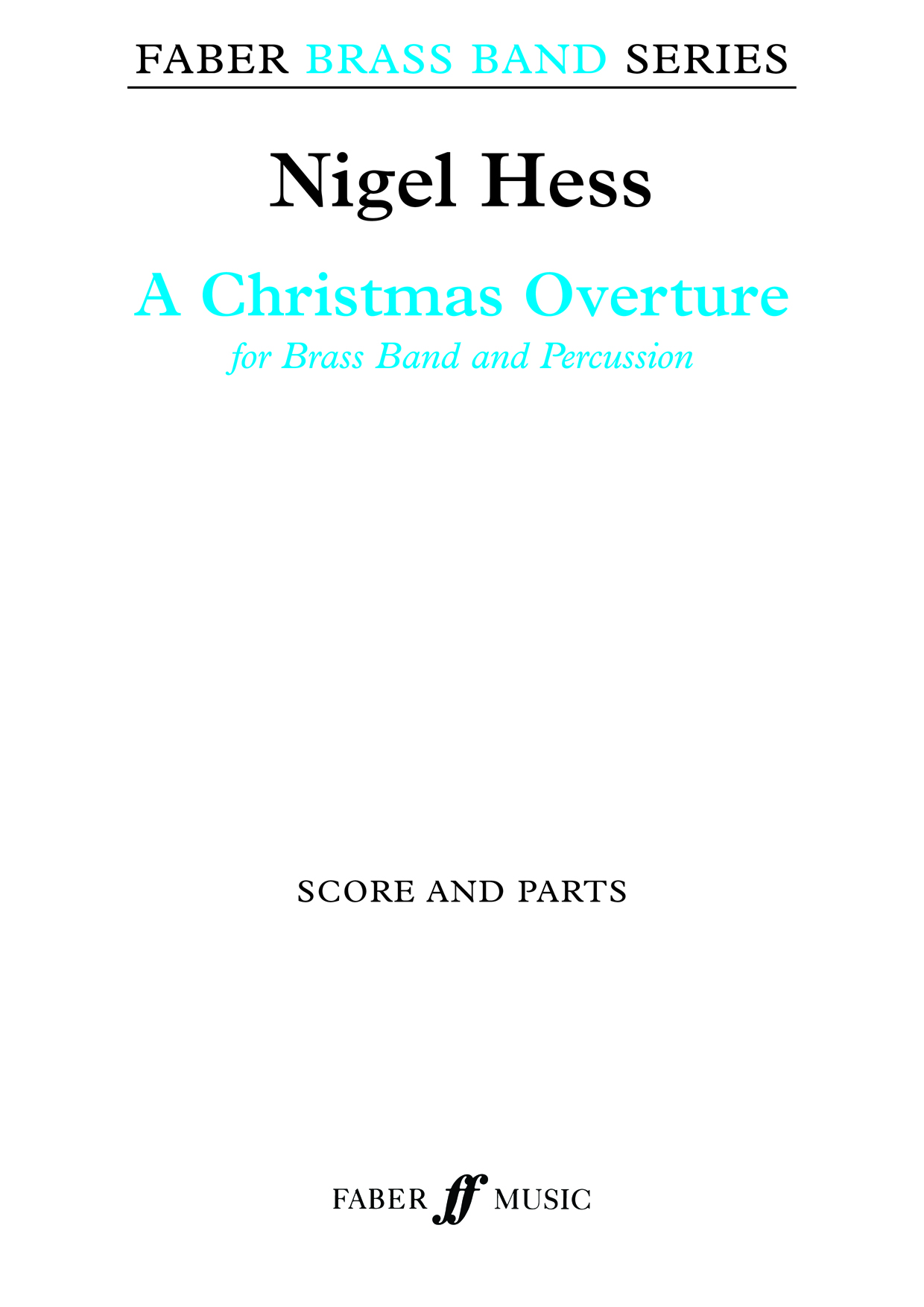 Nigel Hess: Christmas Overture: Brass Band: Score and Parts