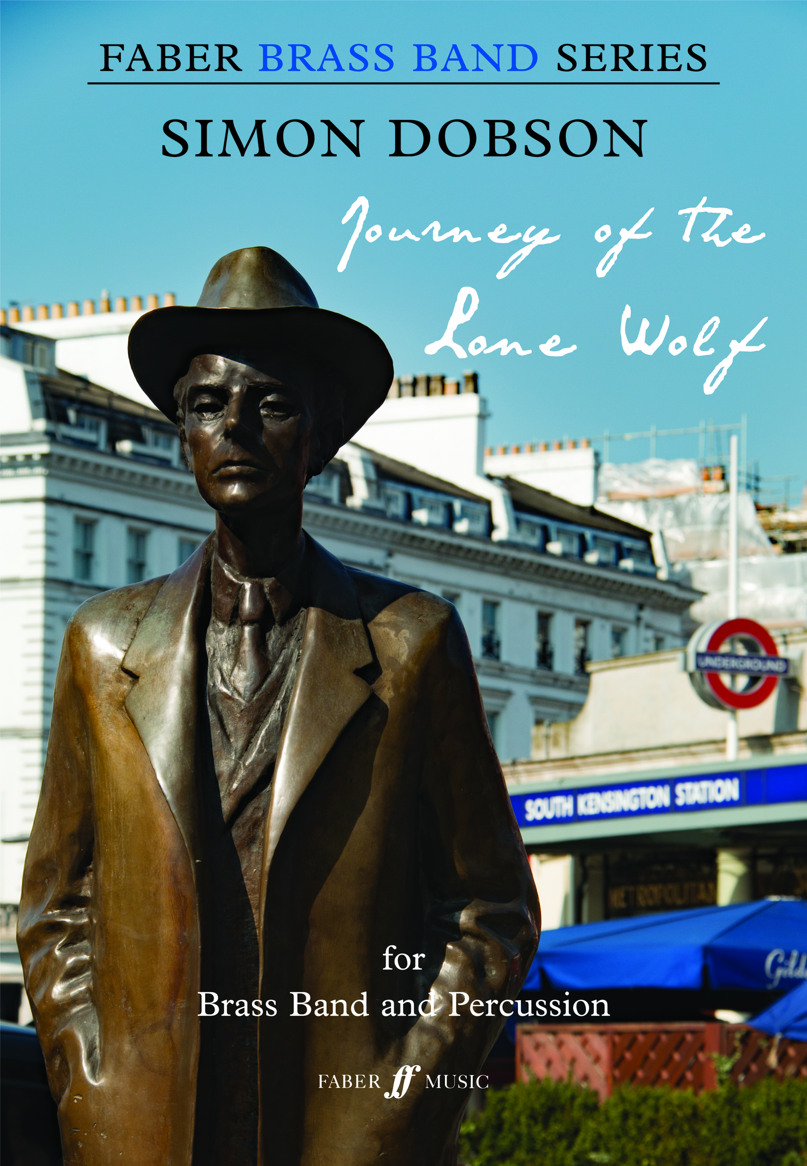 Simon Dobson: Journey of the Lone Wolf: Brass Band: Score