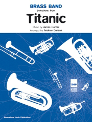 James Horner: Titanic Selections: Brass Band: Score and Parts