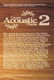 Various: Classic Acoustic Playlist 2: Piano  Vocal  Guitar: Mixed Songbook