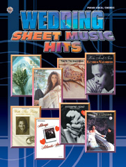 Various: Wedding Sheet Music Hits: Piano  Vocal  Guitar: Mixed Songbook