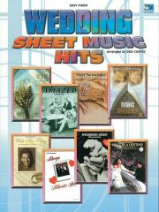 Wedding Sheet Music Hits: Piano: Mixed Songbook