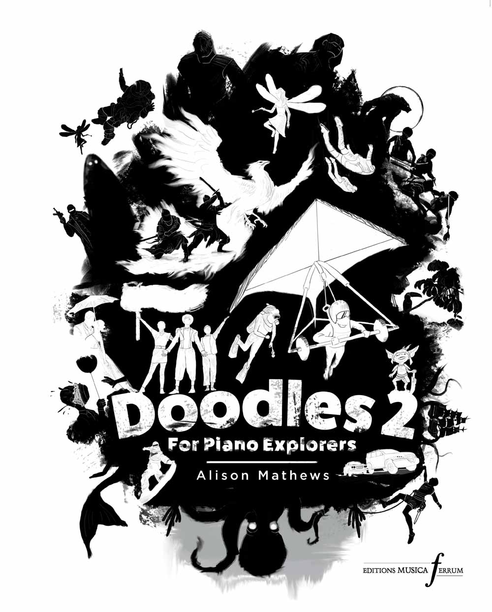 Alison Mathews: Doodles 2: Piano: Instrumental Album
