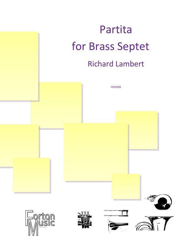 Richard Lambert: Partita Op. 54a: Brass Ensemble: Score and Parts